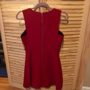 Zara red dress never worn!